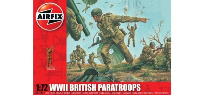 WWII British Paratroops 1:72